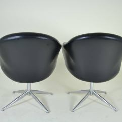 Barrel Dining Chairs Set Of 2 Chair That Turns Into A Twin Bed 8 Swivel Circa 1970s At 1stdibs