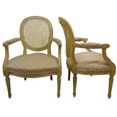 Cane Back Chairs For Sale Cool Dining Pair Of Fauteuil At 1stdibs