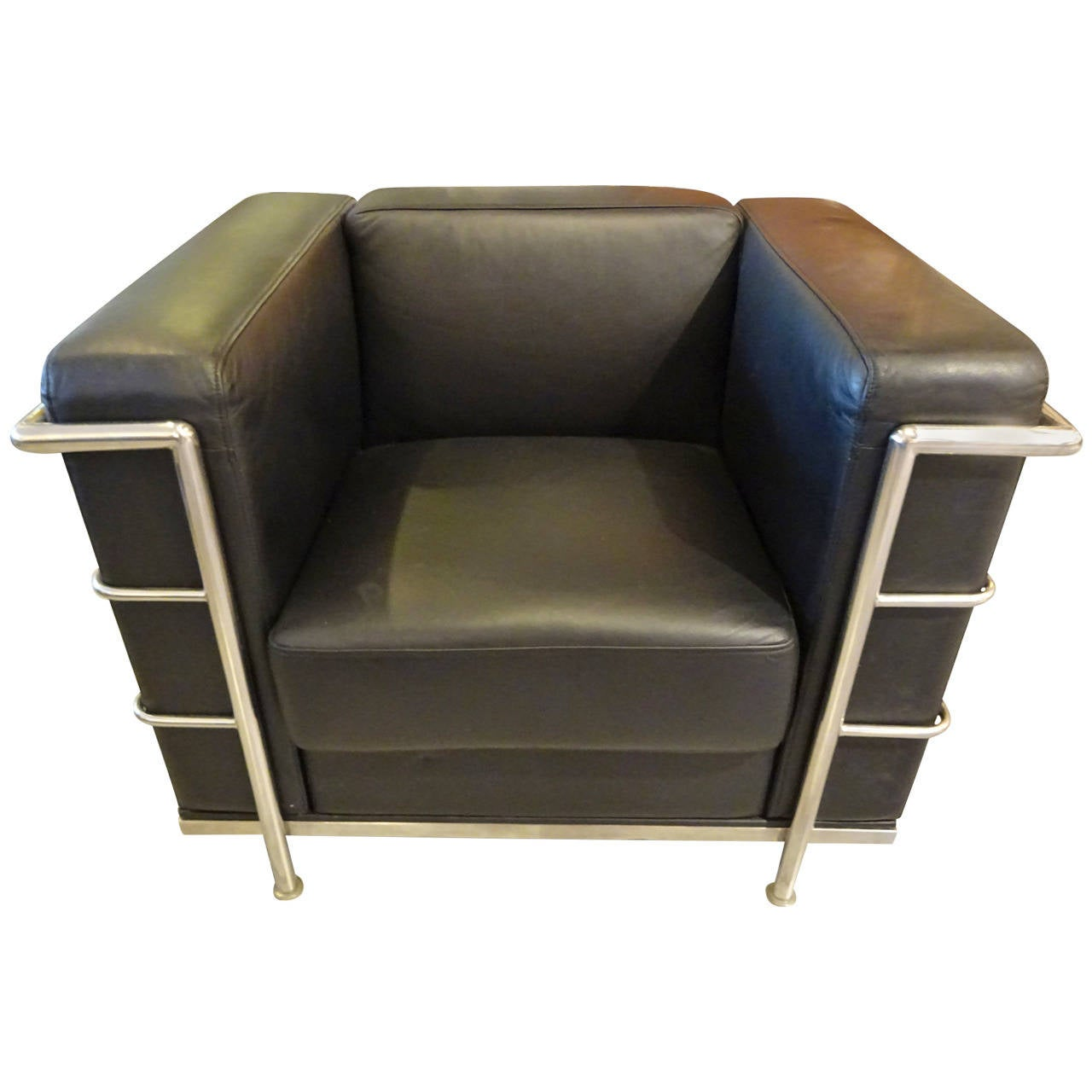 corbusier lounge chair office workout le style at 1stdibs