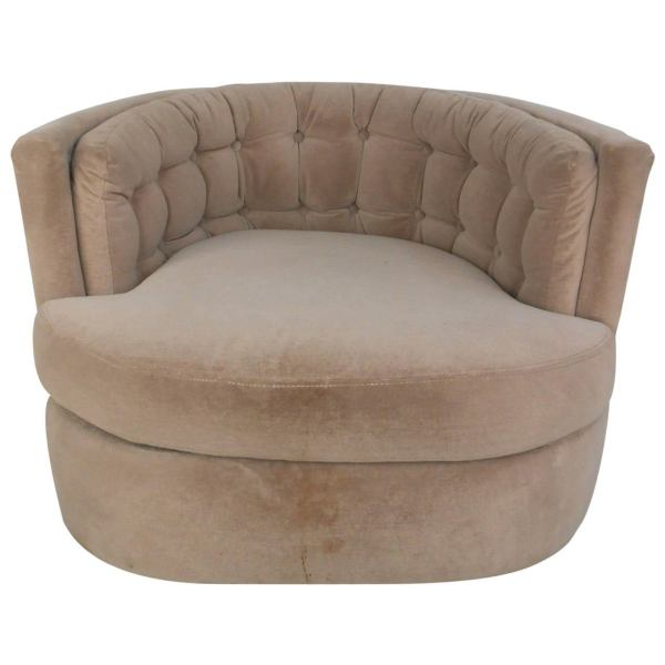 Modern Barrel Swivel Chairs