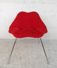 Mid-Century Modern Style 'Lips' Chairs at 1stdibs
