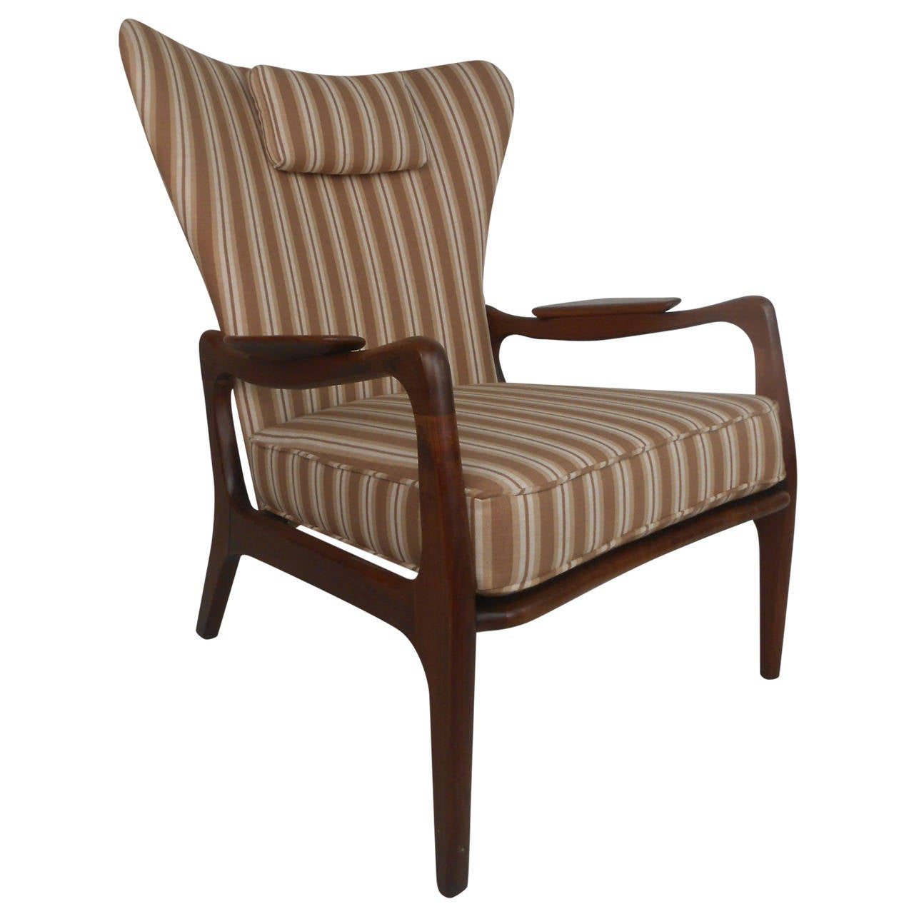 adrian pearsall lounge chair 2 person camping wingback for sale at 1stdibs