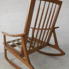 Mid Century Rocker Chair Covers Price Rocking For Sale At 1stdibs
