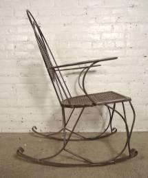 Metal Rocking Chair 1stdibs