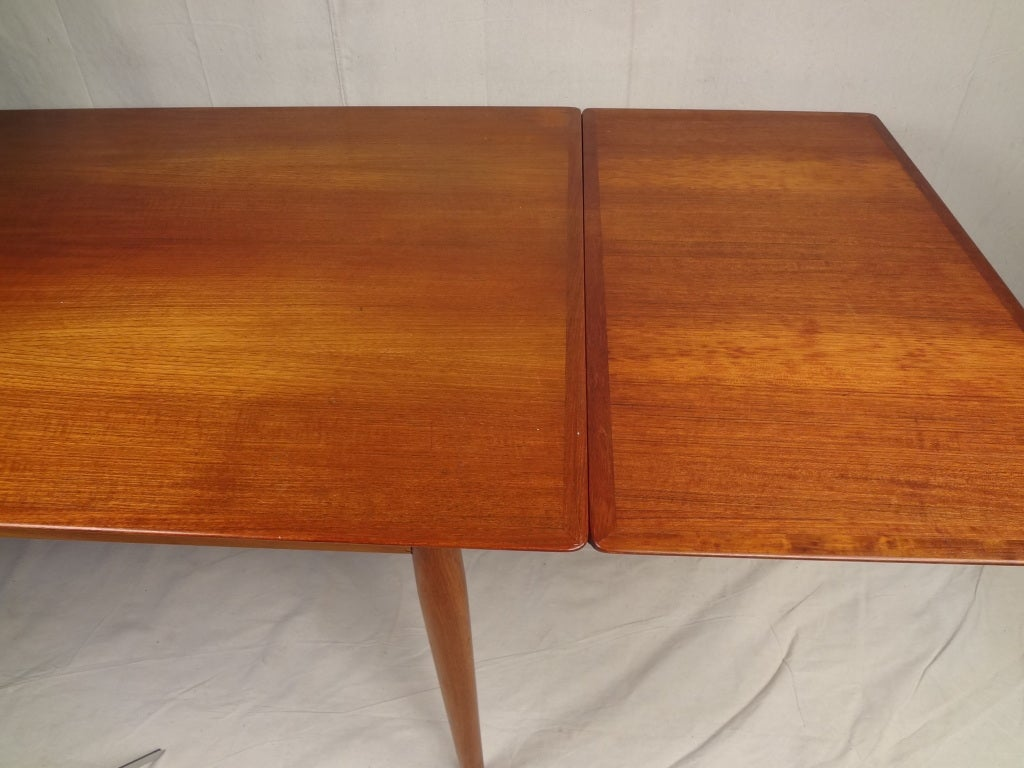 Hans Wegner Teak Dining Table And Chairs At 1stdibs
