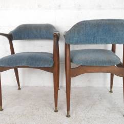 Unusual Dining Chair All In One High Set Of Unique Mid Century Modern Walnut Chairs At