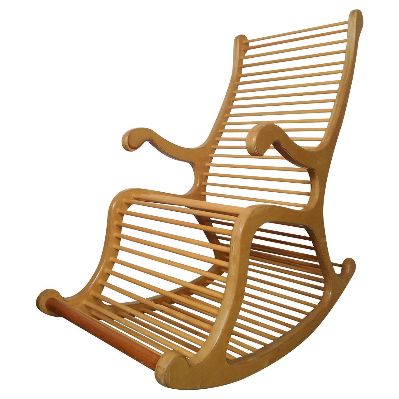 rocking chairs for sale conference room without wheels exceptional wood chair at 1stdibs