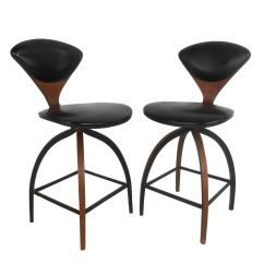 Modern Bar Chairs High Heel Shoe Chair Value City Pair Of Mid Century Plycraft Stools By Norman