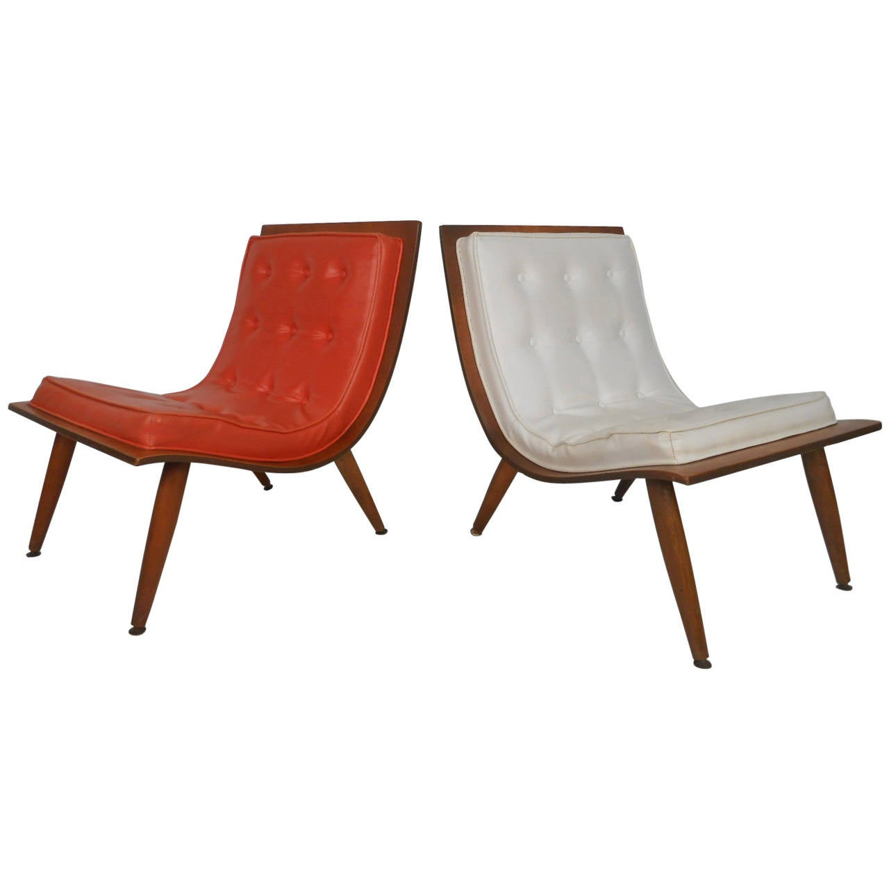 Bentwood Scoop Chair by Carter Brothers For Sale at 1stdibs