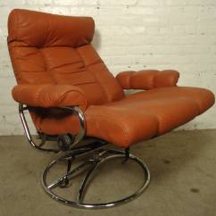 Reclining Chairs For Sale Swivel Chair Test Mid Century And Ottoman By Ekornes