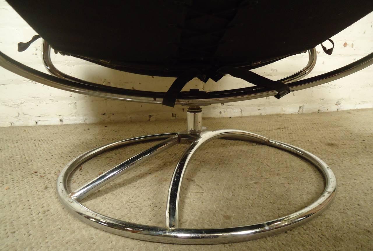stressless chair similar diy adirondack plans mid century reclining and ottoman by ekornes