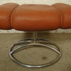 Stressless Chair Similar Side Tables Living Room Mid Century Reclining And Ottoman By Ekornes