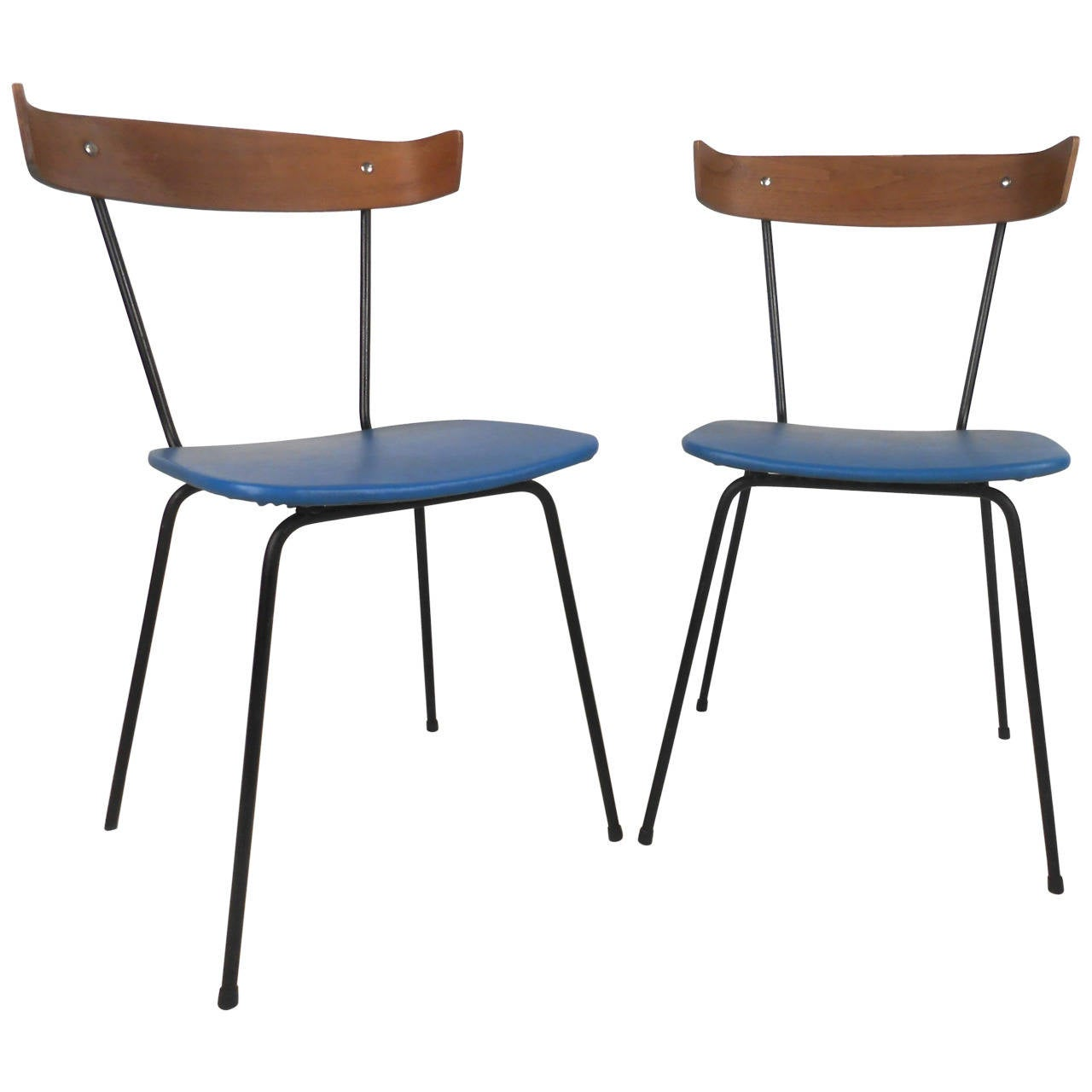 modern bentwood chairs sit n gym ball chair pair of mid century paul mccobb attributed