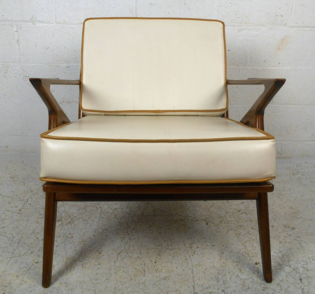 z chair mid century wood parts suppliers modern poul jensen style at 1stdibs