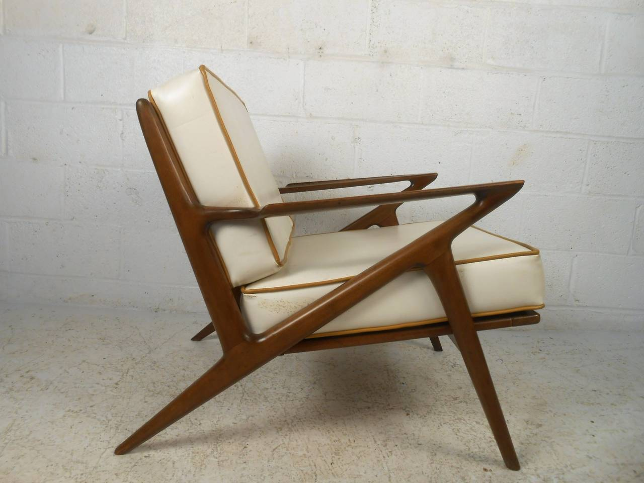 z chair mid century high back accent chairs modern poul jensen style at 1stdibs in good condition for sale brooklyn
