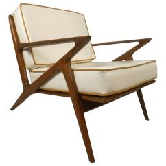 Z Chair Mid Century Posture Care Company Norwood Modern Poul Jensen Style At 1stdibs