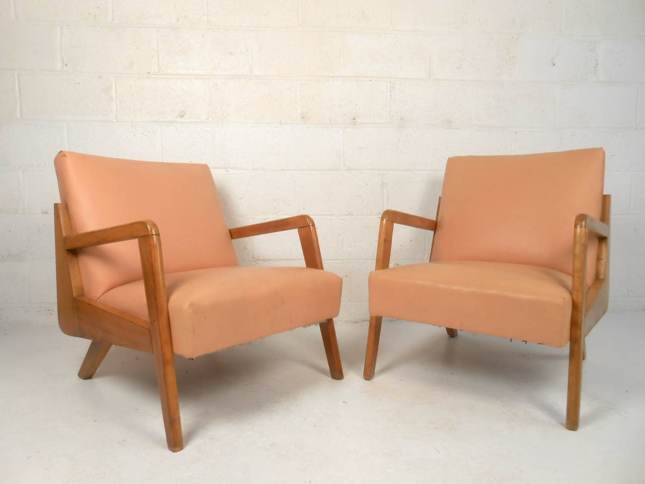 arm chairs for sale brown leather club chair recliner mid century modern sculpted armchairs at 1stdibs