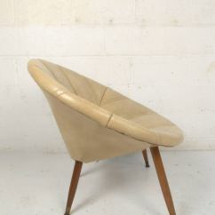 Saucer Chair For Kids Kitchen Cushions Round Midcentury Sale At 1stdibs