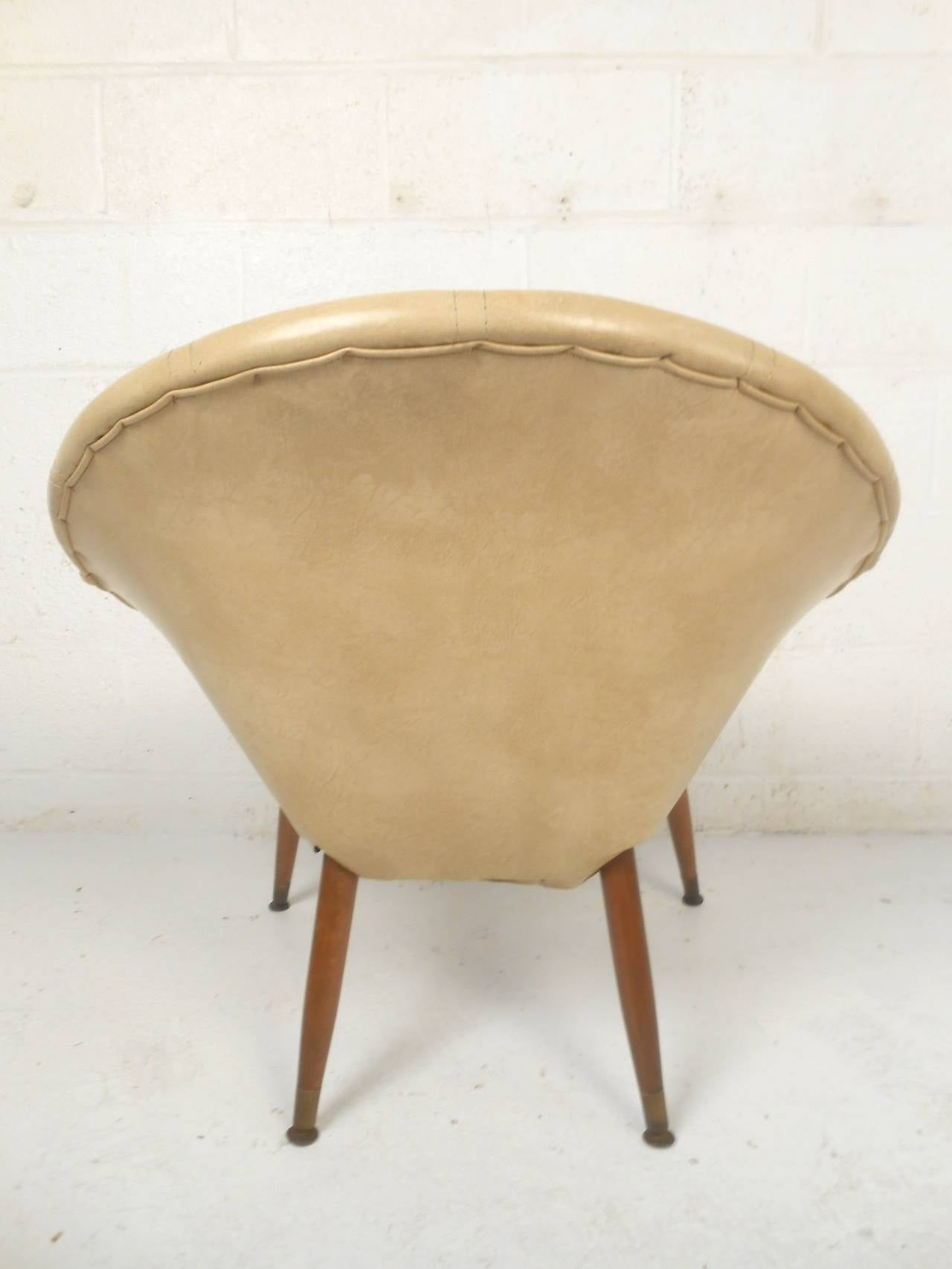 saucer chair for kids standing desk office depot round midcentury sale at 1stdibs