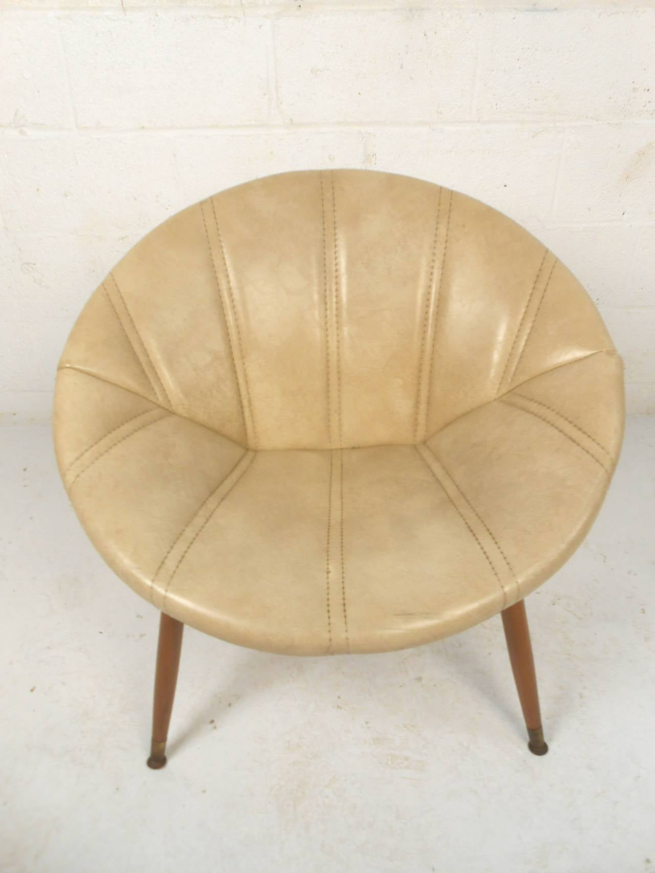 circular chairs for sale best desk chair round midcentury saucer at 1stdibs