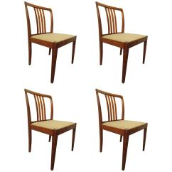 Set Of 4 Dining Chairs Hanging Chair Nest Rich Rosewood Four For Sale At 1stdibs