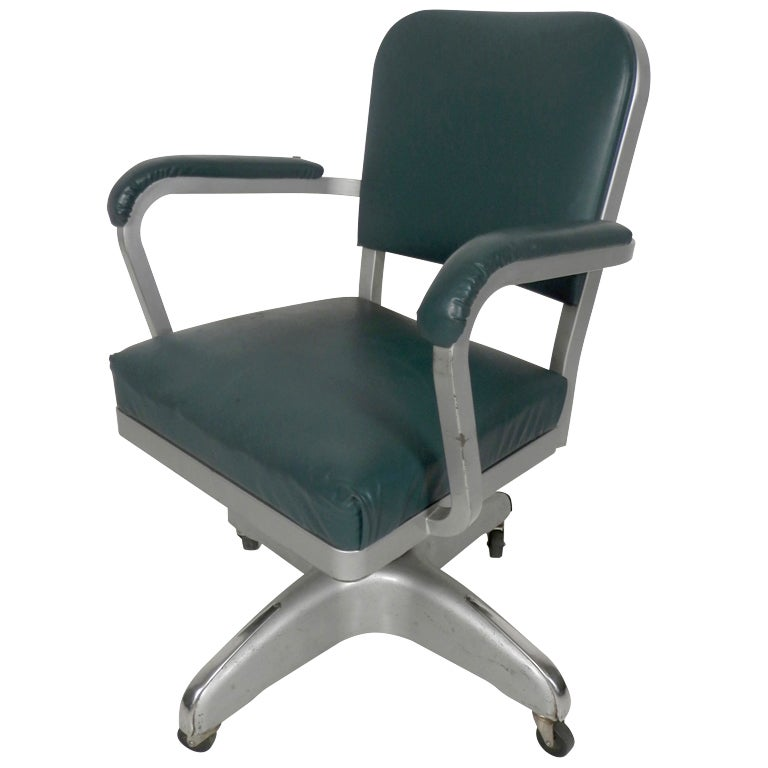 steel chair for office leather recliner chairs harvey norman handsome vintage industrial cole desk at 1stdibs sale