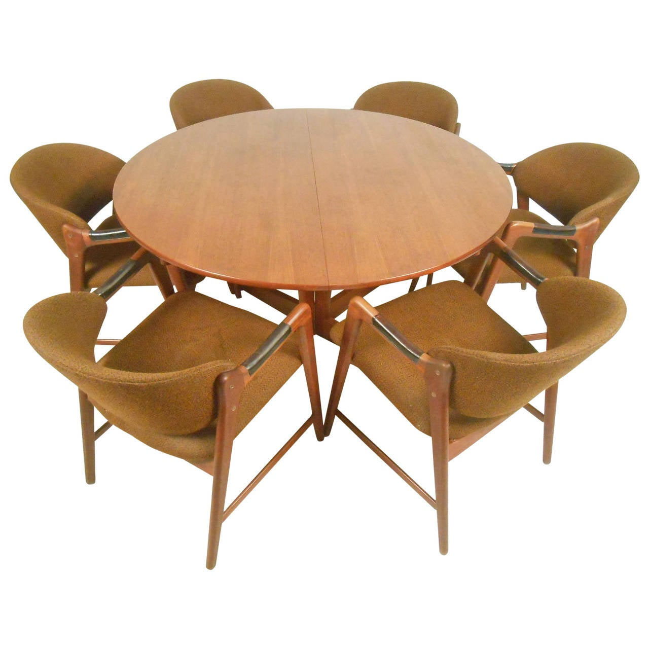 teak dining room chairs for sale kitchen chair cushions canadian tire mid century modern set with westnofa