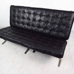 Barcelona Chair Style Couch Doll High Target Mid Century Sofa Ludwig Mies Van Der Rohe