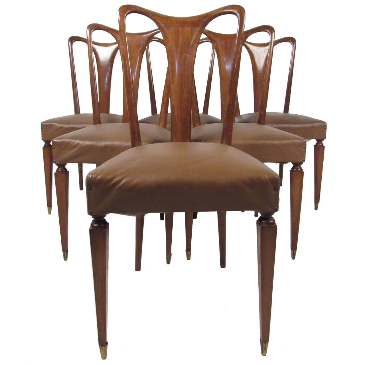 Italian Dining Chairs Vintage Italian Dining Chairs At 1stdibs