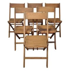 Wooden Folding Chairs For Sale Lobby Waiting Room Classic All Wood At 1stdibs