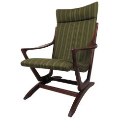 Rocking Chairs For Sale Dxr Racing Chair Mid Century Modern Walnut Frame At