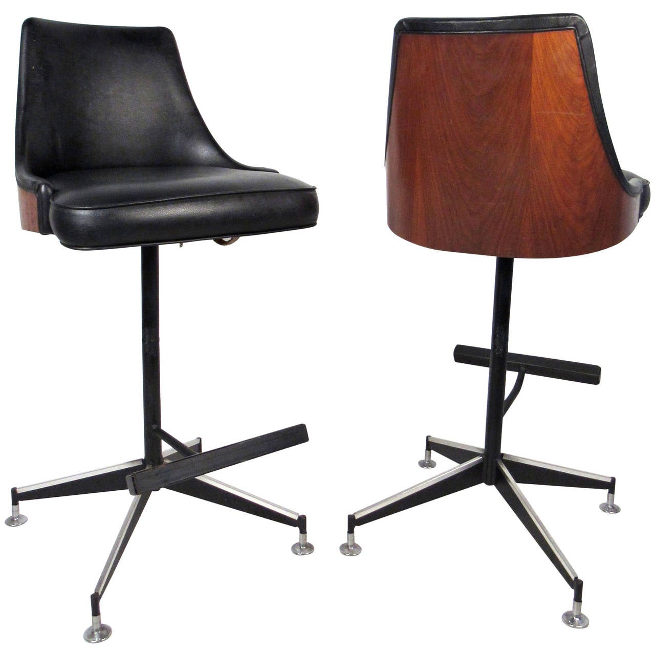 modern bar chairs chair covers and sash hire hertfordshire mid century stools at 1stdibs