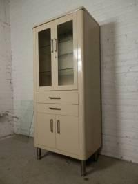 Antique Metal Medical Cabinet | Antique Furniture