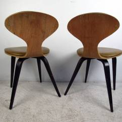 Modern Bentwood Chairs Revolving Chair Photo Pair Of Mid Century In The Style