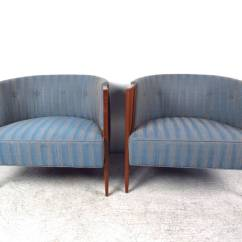 Mid Century Cane Barrel Chair Desk Lower Back Support Pair Of Unique Lounge Chairs For