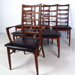Ladderback Dining Chairs Swing Chair Canopy Replacement Set Of Ladder Back By Koefoeds Hornslet At