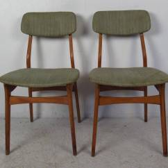 Teak Dining Room Chairs For Sale Rocking At Walmart Set Of Six Mid Century Upholstered