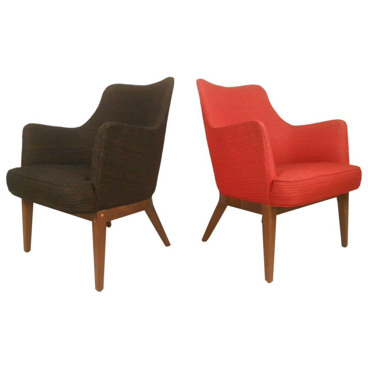 Mid Century Modern Lounge Chairs Mid Century Modern Mogens Lassen Style Lounge Chair For