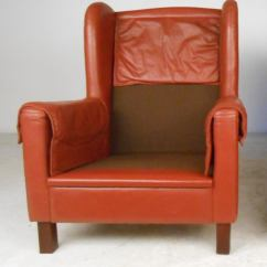 Modern Wingback Chairs For Sale Handicapped Danish Leather At 1stdibs