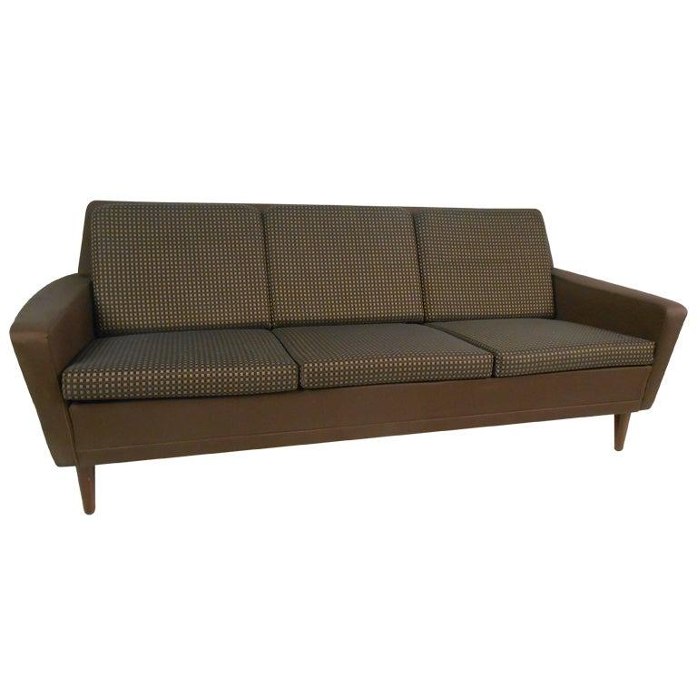 Vintage Dux Danish Modern Sofa at 1stdibs