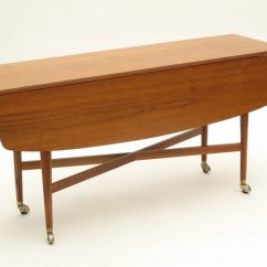 Drexel Sofa Table Slipcover For Tuxedo Style Drop Leaf Dining At 1stdibs