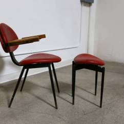 Chair And Matching Stool Best Stadium Chairs With Arms Carlo Mollino At 1stdibs