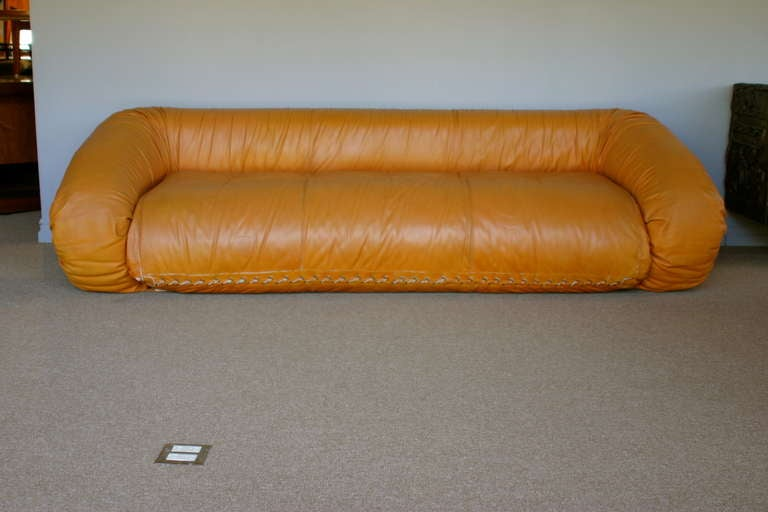 anfibio leather sofa bed used sectional sofas sale by alessandro becchi for ...