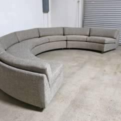 Circular Sofas Calico Sofa Sectional By Milo Baughman At 1stdibs