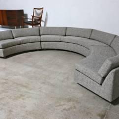 Circular Sofas Pauline Sofa Reviews Sectional By Milo Baughman At 1stdibs