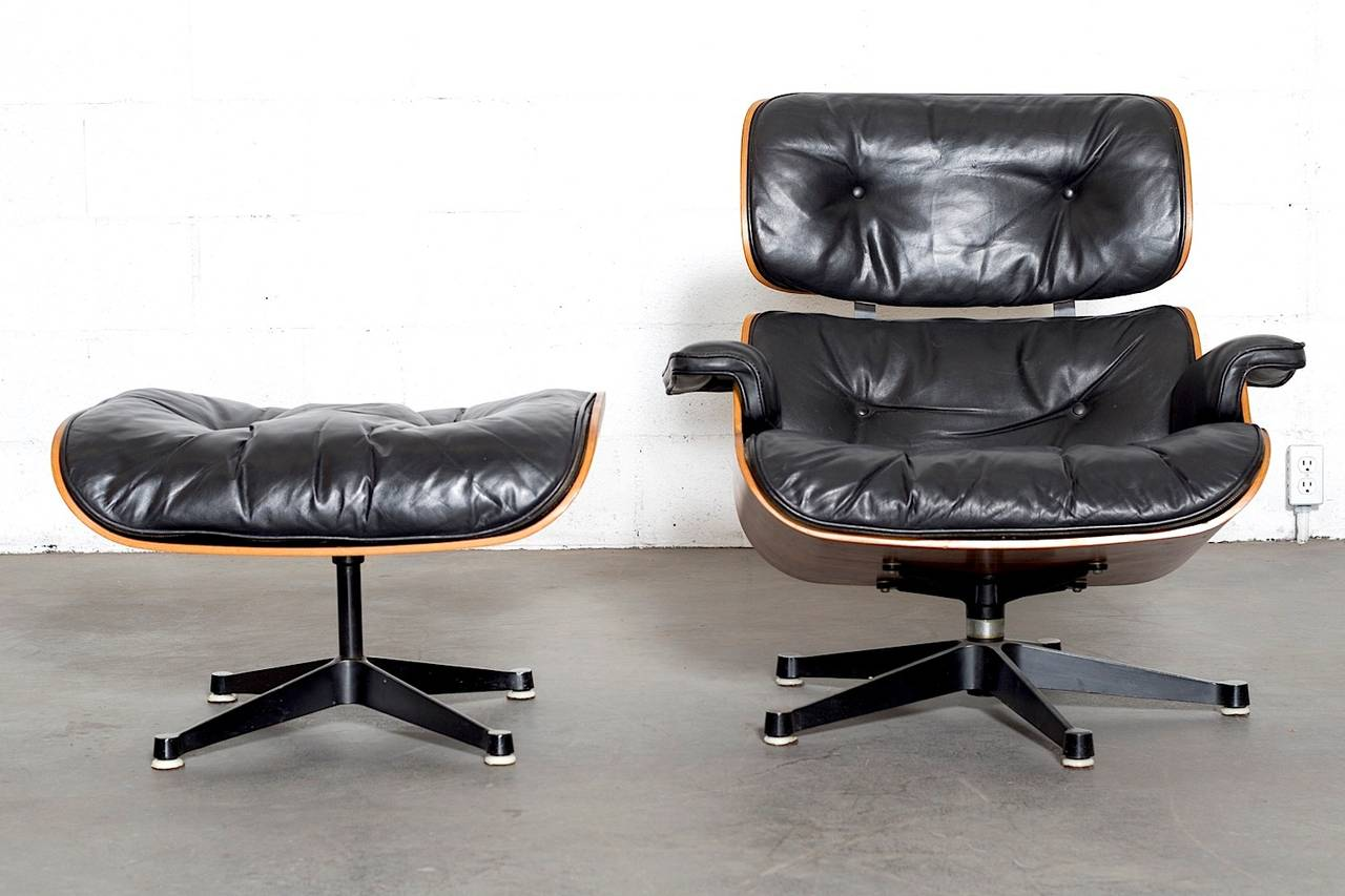 Herman Miller Eames Chair Rosewood Eames Lounge Chair By Herman Miller And Vitra At