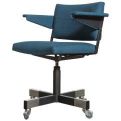 Rolling Chairs For Office Tufted Arm Chair A R Cordemeijer Gispen At 1stdibs