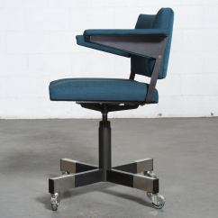 Rolling Chairs For Office Upholstered Dining A R Cordemeijer Gispen Chair At 1stdibs