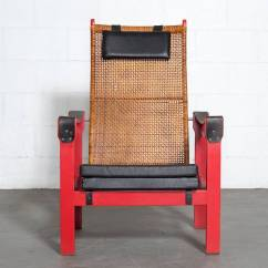 Woven Lounge Chair Mamas And Papas Seat P J Muntendam Rattan With Leather