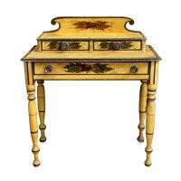 Paint Decorated Dressing Table at 1stdibs